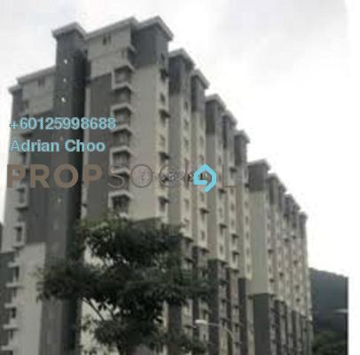 Apartment For Rent in Permai Jaya Apartment, Tanjung Bungah Freehold Fully Furnished 3R/2B 700translationmissing:en.pricing.unit