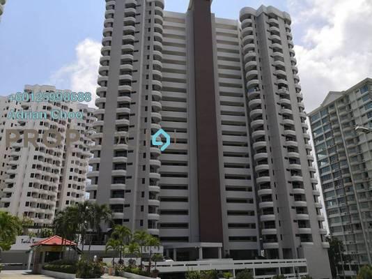Condominium For Sale in Twin Towers, Tanjung Bungah Freehold Semi Furnished 3R/2B 610k