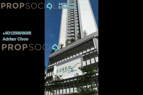 Condominium For Sale in Sierra Residences, Sungai Ara Freehold Semi Furnished 3R/2B 470k