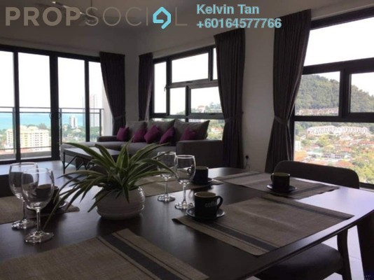 Condominium For Sale in Mira Residence, Tanjung Bungah Freehold Fully Furnished 4R/3B 1.3m