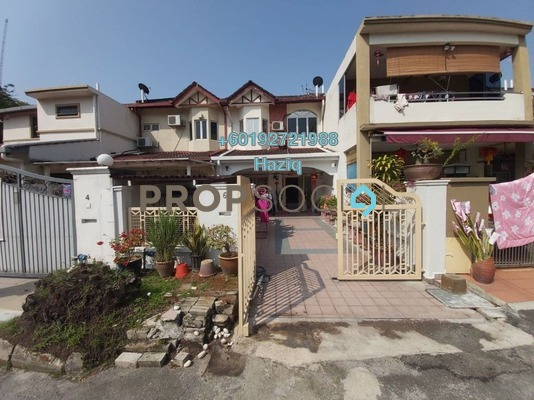 Terrace For Sale in Bandar Tasik Selatan, Kuala Lumpur Freehold Semi Furnished 4R/3B 620k
