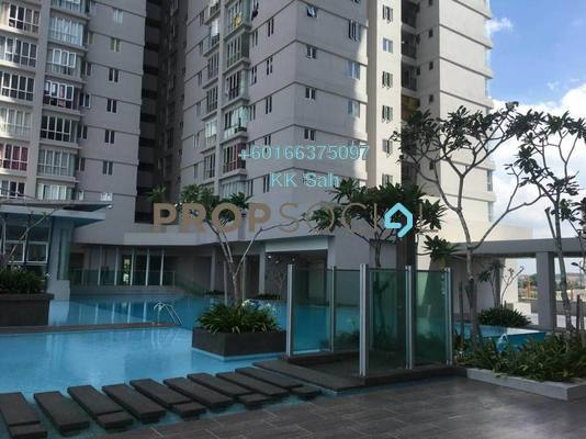 Serviced Residence For Sale in Maxim Residences, Cheras Freehold Semi Furnished 1R/1B 353k
