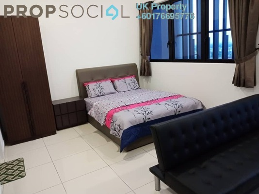 Condominium For Rent in The Parque Residences @ Eco Sanctuary, Telok Panglima Garang Freehold Fully Furnished 1R/1B 1.45k