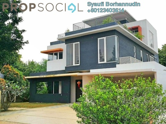 Bungalow For Sale in Setia Eco Park, Setia Alam Freehold Semi Furnished 5R/6B 4.28m