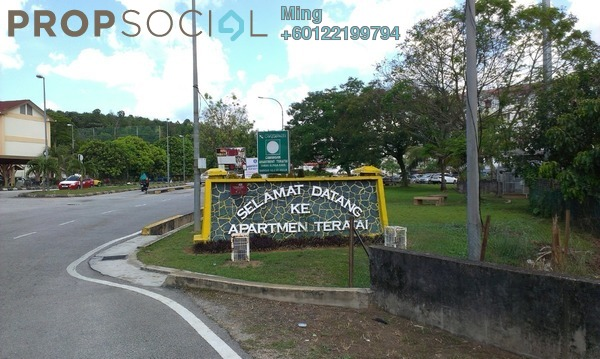 Apartment For Rent in Taman Bunga Raya, Bukit Beruntung Freehold Unfurnished 3R/2B 450translationmissing:en.pricing.unit