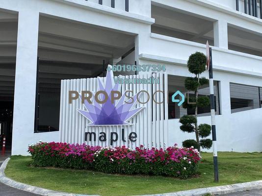 Condominium For Rent in Maple Residences, Bandar Bestari Freehold Unfurnished 3R/2B 1.2k