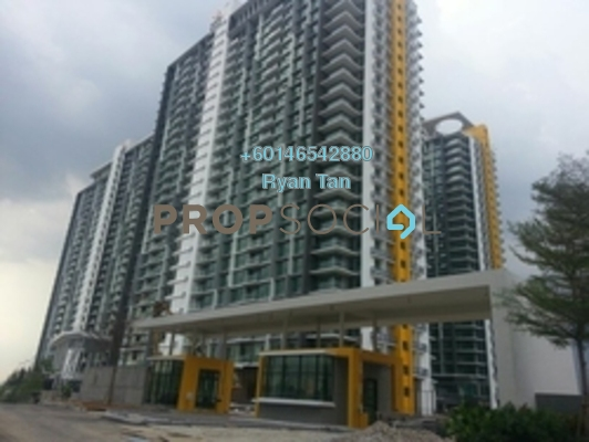 Condominium For Sale in The Z Residence, Bukit Jalil Freehold Semi Furnished 3R/2B 580k