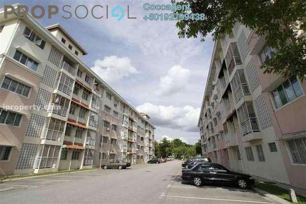 Apartment For Rent in Desa Mutiara Apartment, Mutiara Damansara Freehold Semi Furnished 3R/2B 1.1k