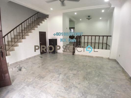 Terrace For Sale in SL7, Bandar Sungai Long Freehold Semi Furnished 4R/3B 588k