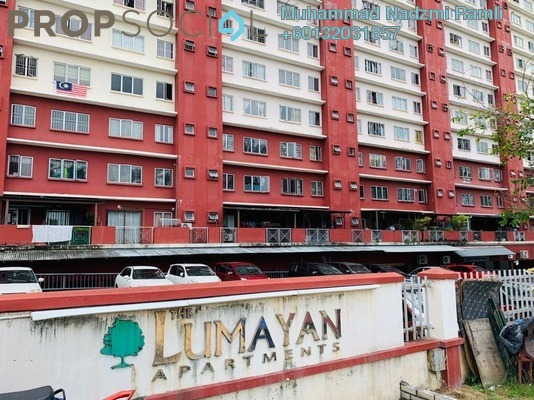 Apartment For Sale in The Lumayan, Bandar Sri Permaisuri Freehold Semi Furnished 3R/2B 350k