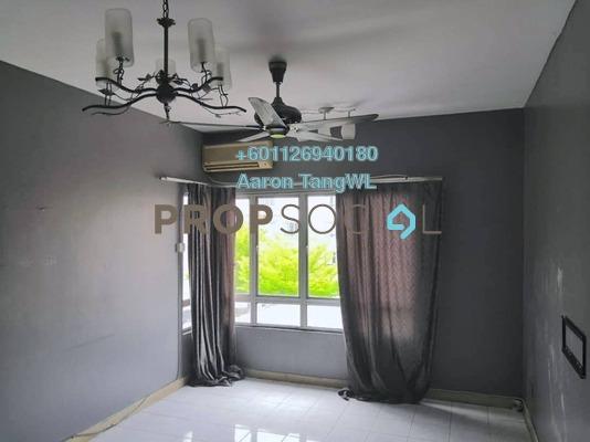 Apartment For Rent in SD Tiara Apartment, Bandar Sri Damansara Freehold Semi Furnished 3R/2B 1.2k