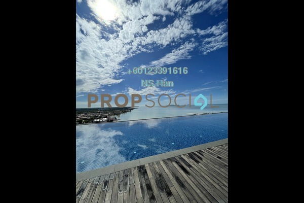 Serviced Residence For Sale in Silverscape @ Hatten City, Bandar Melaka Leasehold Semi Furnished 4R/3B 550k