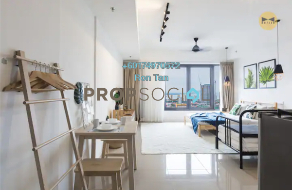 SoHo/Studio For Rent in Tropicana 218 Macalister, Georgetown Freehold Fully Furnished 1R/1B 2.5k