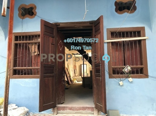 Terrace For Sale in Lorong Stewart, Georgetown Freehold Unfurnished 3R/3B 1.55m