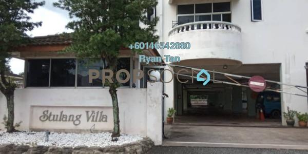Condominium For Rent in Kampung Stulang Laut, Johor Bahru Freehold Fully Furnished 3R/4B 2.1k