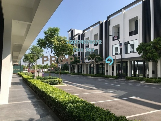 Shop For Sale in Aspen Vision City, Batu Kawan Freehold Unfurnished 0R/3B 2.5m