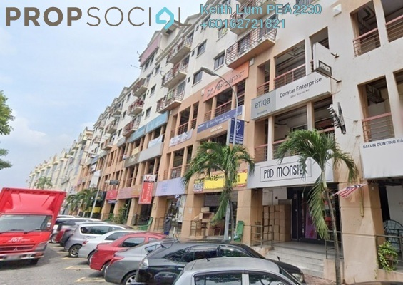 Apartment For Rent in Cheras Business Centre, Cheras Freehold Semi Furnished 2R/2B 950translationmissing:en.pricing.unit