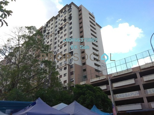 Apartment For Sale in Kampung Berembang, Ampang Hilir Leasehold Semi Furnished 3R/2B 218k