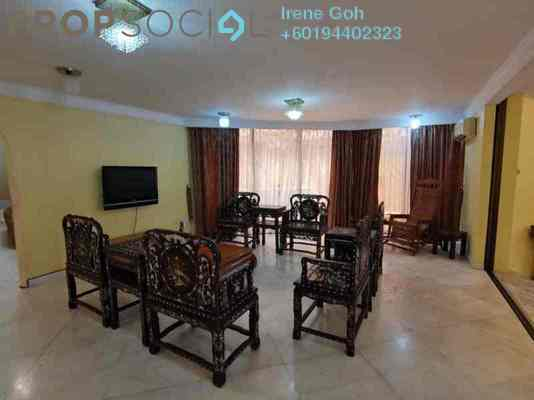 Bungalow For Rent in Taman Jesselton Height, Georgetown Freehold Fully Furnished 4R/4B 4.9k