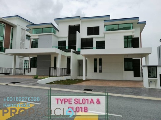 Semi-Detached For Sale in Kingsley Hills, Putra Heights Freehold Unfurnished 7R/7B 2.68m