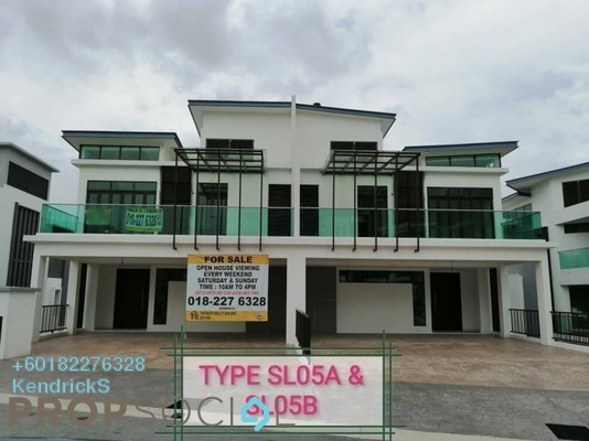 Semi-Detached For Sale in Kingsley Hills, Putra Heights Freehold Unfurnished 6R/6B 2.3m