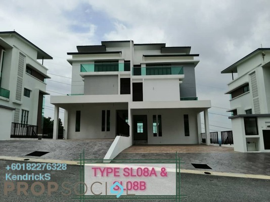 Semi-Detached For Sale in Kingsley Hills, Putra Heights Freehold Unfurnished 6R/7B 2.5m