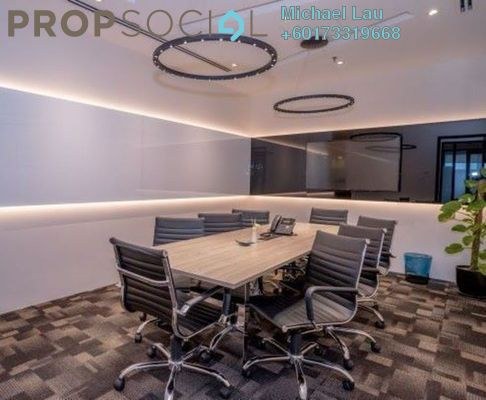 Office For Rent in The Pillars @ KL Eco City, Mid Valley City Freehold Fully Furnished 0R/0B 1.1k