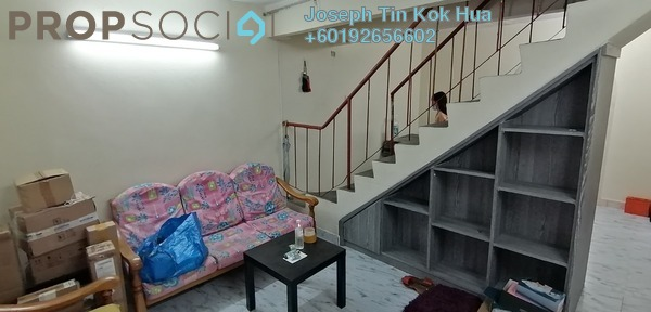 Terrace For Rent in Taman OUG, Old Klang Road Freehold Semi Furnished 2R/2B 1.5k