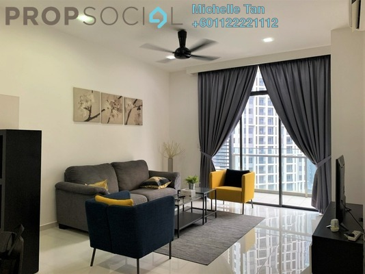 Condominium For Rent in Mirage Residence, KLCC Freehold Fully Furnished 2R/2B 3k