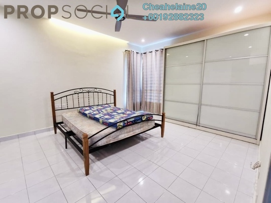 Apartment For Rent in 162 Residency, Selayang Freehold Semi Furnished 3R/2B 1.1k