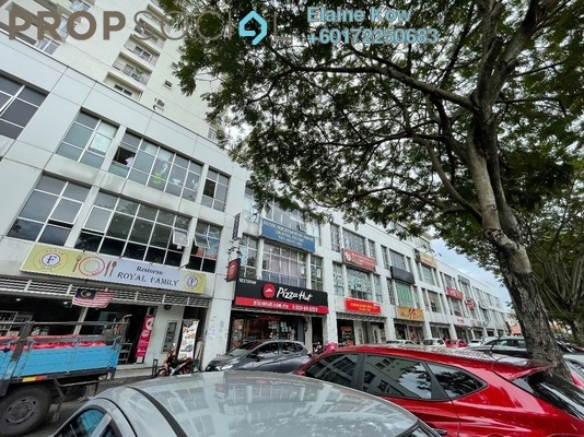 Shop For Sale in Taman Putra Sulaiman, Ampang Freehold Semi Furnished 0R/0B 2.5m