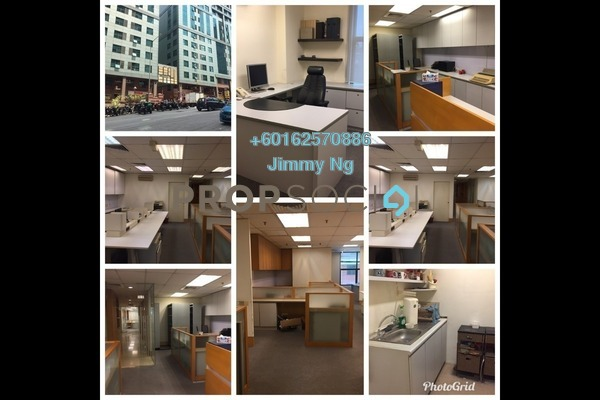 Office For Sale in Megan Avenue 1, KLCC Freehold Fully Furnished 0R/2B 1.3m