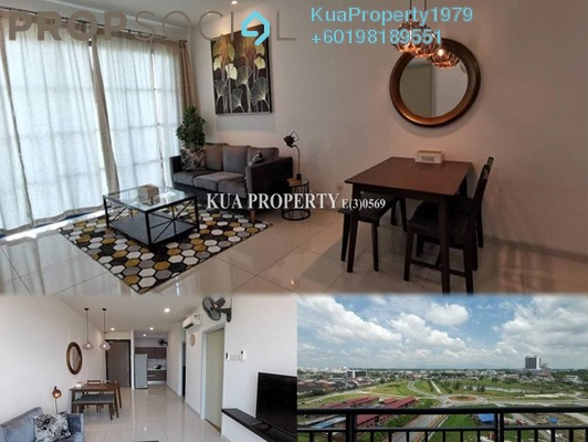 Apartment For Rent in Sapphire on the Park, Kuching Freehold Fully Furnished 2R/2B 1.8k