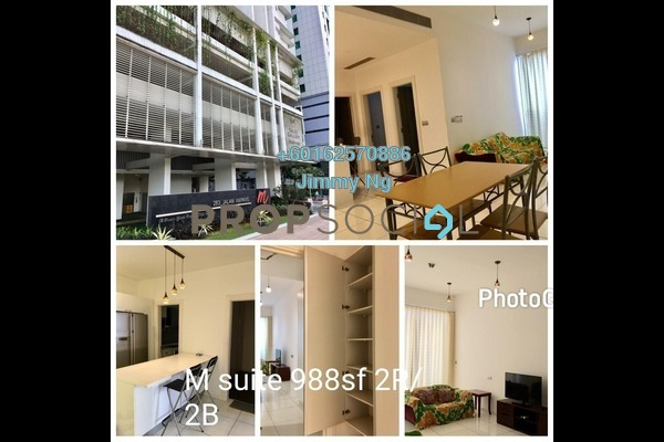 Serviced Residence For Sale in M Suites, Ampang Hilir Freehold Fully Furnished 2R/2B 1.1m