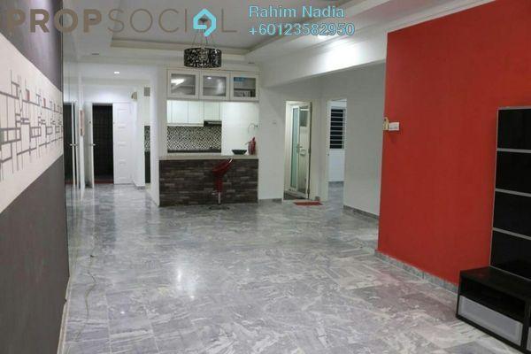 Condominium For Sale in Kemensah Villa, Kemensah Freehold Semi Furnished 3R/2B 360k