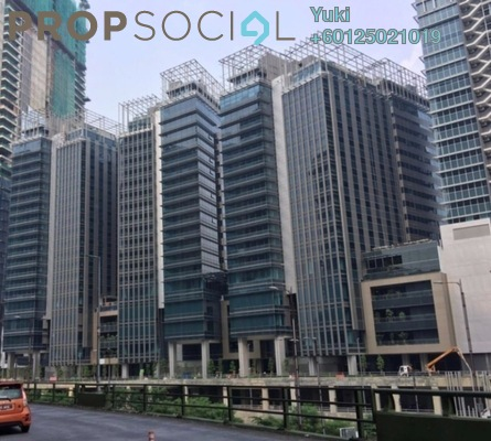 Office For Rent in The Pillars @ KL Eco City, Mid Valley City Freehold Semi Furnished 0R/2B 18.8k