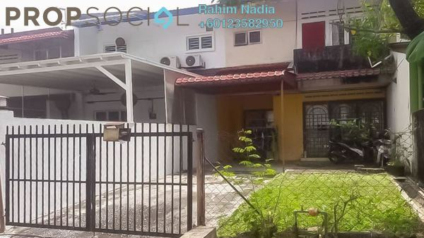 Terrace For Sale in Taman Suria Jaya, Cheras South Freehold Semi Furnished 4R/3B 550k