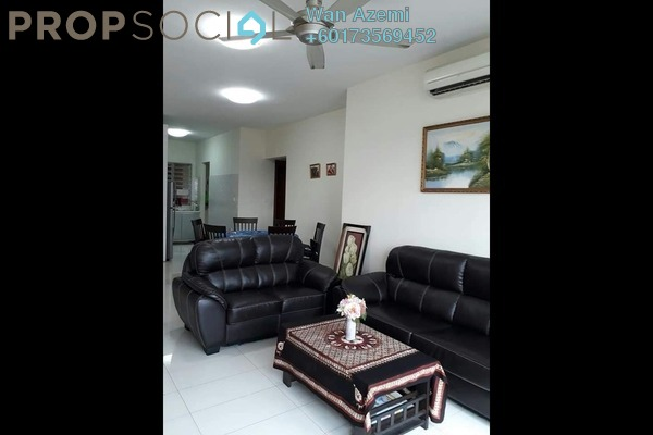 Condominium For Rent in Titiwangsa Sentral, Titiwangsa Freehold Fully Furnished 3R/2B 2.5k
