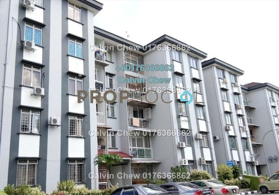Apartment For Sale in Goodyear Court 6, UEP Subang Jaya Freehold Unfurnished 3R/2B 259k