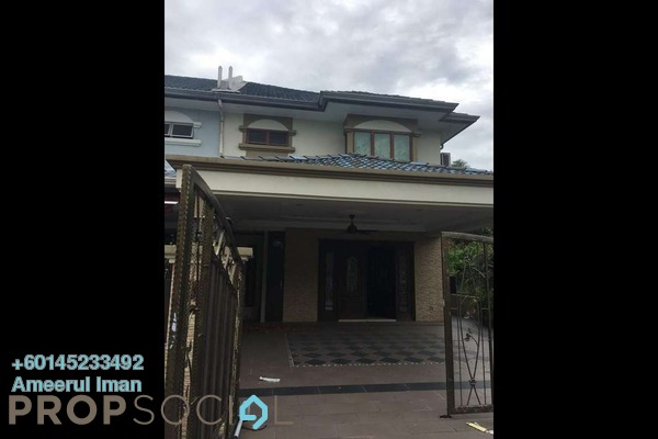 Semi-Detached For Sale in Section 7, Shah Alam Freehold Semi Furnished 4R/3B 950k