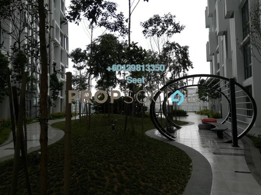 Condominium For Rent in H2O Residences, Ara Damansara Freehold Semi Furnished 1R/1B 1.65k