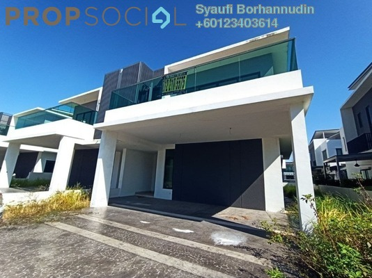 Semi-Detached For Sale in Corallia @ D'Island, Puchong Freehold Unfurnished 6R/6B 1.85m