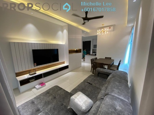 Serviced Residence For Sale in Marina Cove, Johor Bahru Freehold Fully Furnished 3R/2B 543k