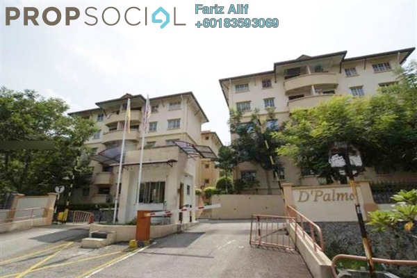 Apartment For Sale in D'Palma Apartment, Pusat Bandar Puchong Freehold Unfurnished 3R/2B 280k