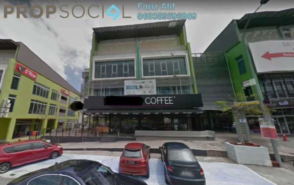 Shop For Sale in D'Vida, Bukit Jelutong Freehold Semi Furnished 0R/2B 3.19m