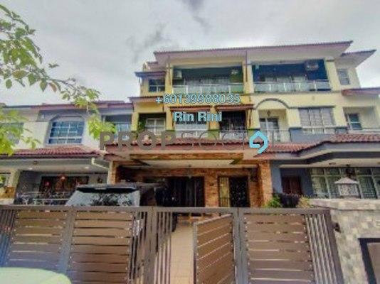 Terrace For Sale in Taman Damai Utama, Bandar Kinrara Freehold Semi Furnished 4R/4B 929k