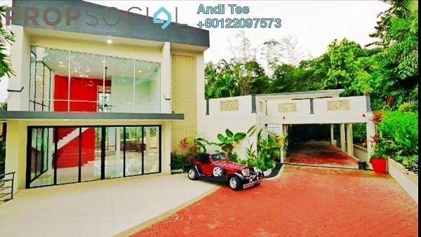 Bungalow For Sale in Bukit Tunku, Kenny Hills Freehold Semi Furnished 7R/8B 15m