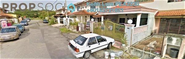 Terrace For Sale in Section 2, Bandar Mahkota Cheras Freehold Semi Furnished 4R/3B 640k