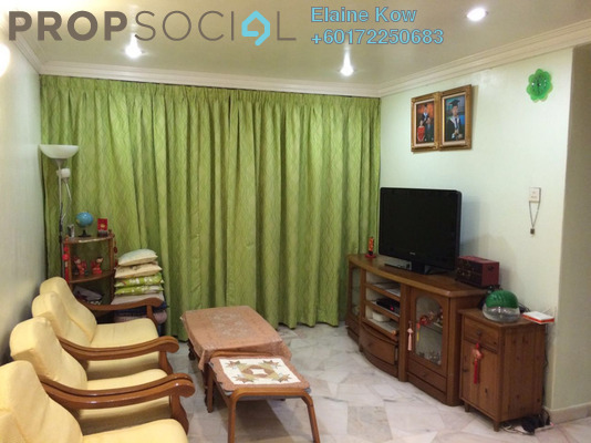 Apartment For Sale in Taman Sri Sentosa, Old Klang Road Leasehold Fully Furnished 3R/2B 320k