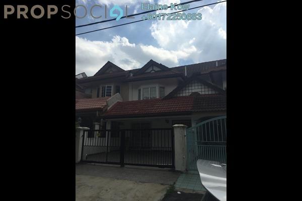 Terrace For Rent in BK3, Bandar Kinrara Freehold Semi Furnished 4R/3B 1.8k